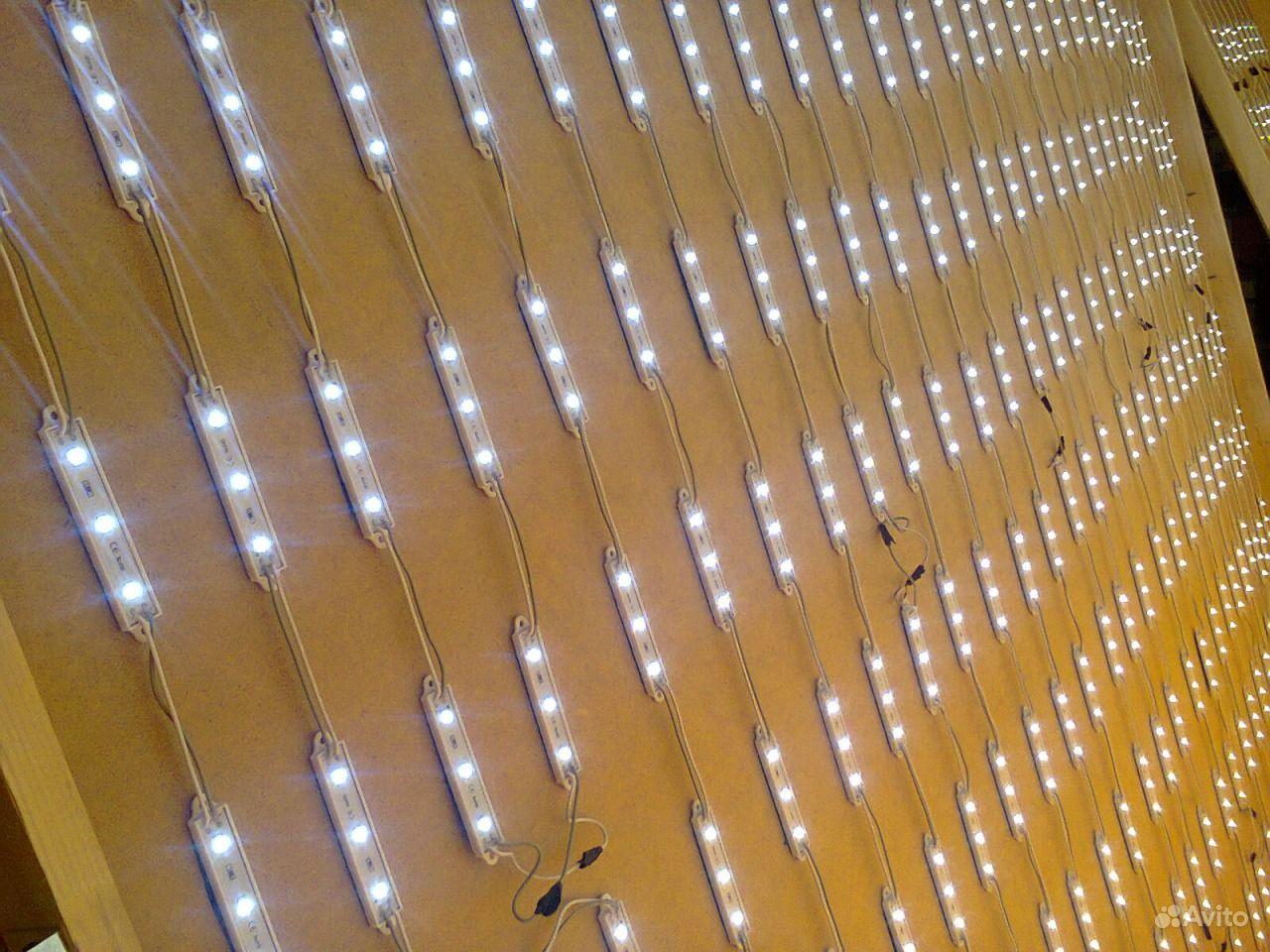 Световые короба на светодиодах своими руками