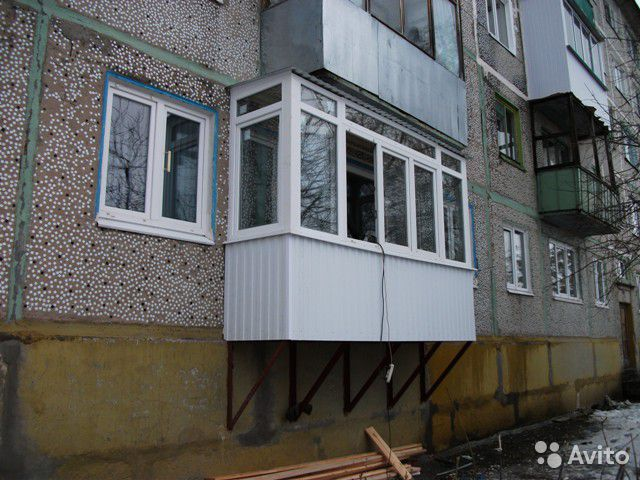 Как сделать лоджию балкон для первого этажа - sort-metall.ru.