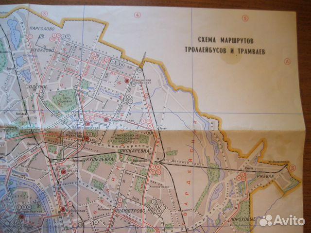 Карта-схема маршрутов