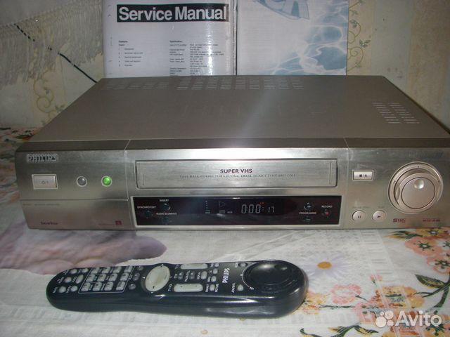 """Видеомагнитофон """"Philips S-VHS"""