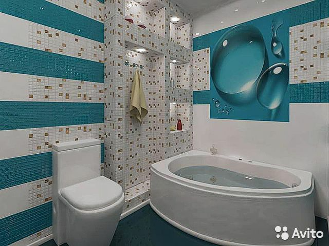 Эконом ремонт ванной комнаты фото