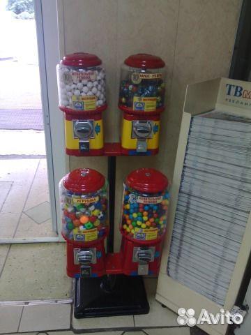 Автомат с игрушками бу