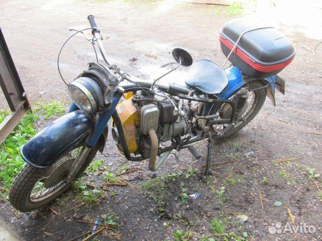 Дизельный мотоцикл днепр 2