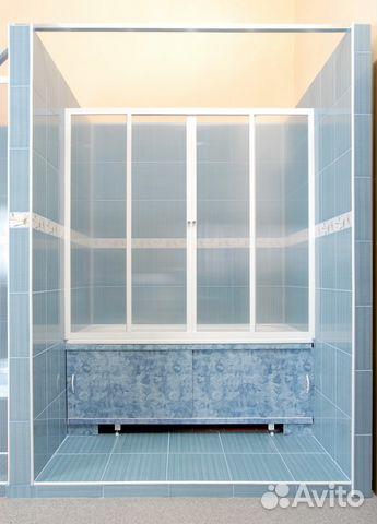 Пластиковая раздвижная штора на ванну своими руками