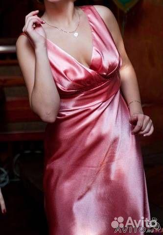 Сшить платье из атласа своими руками