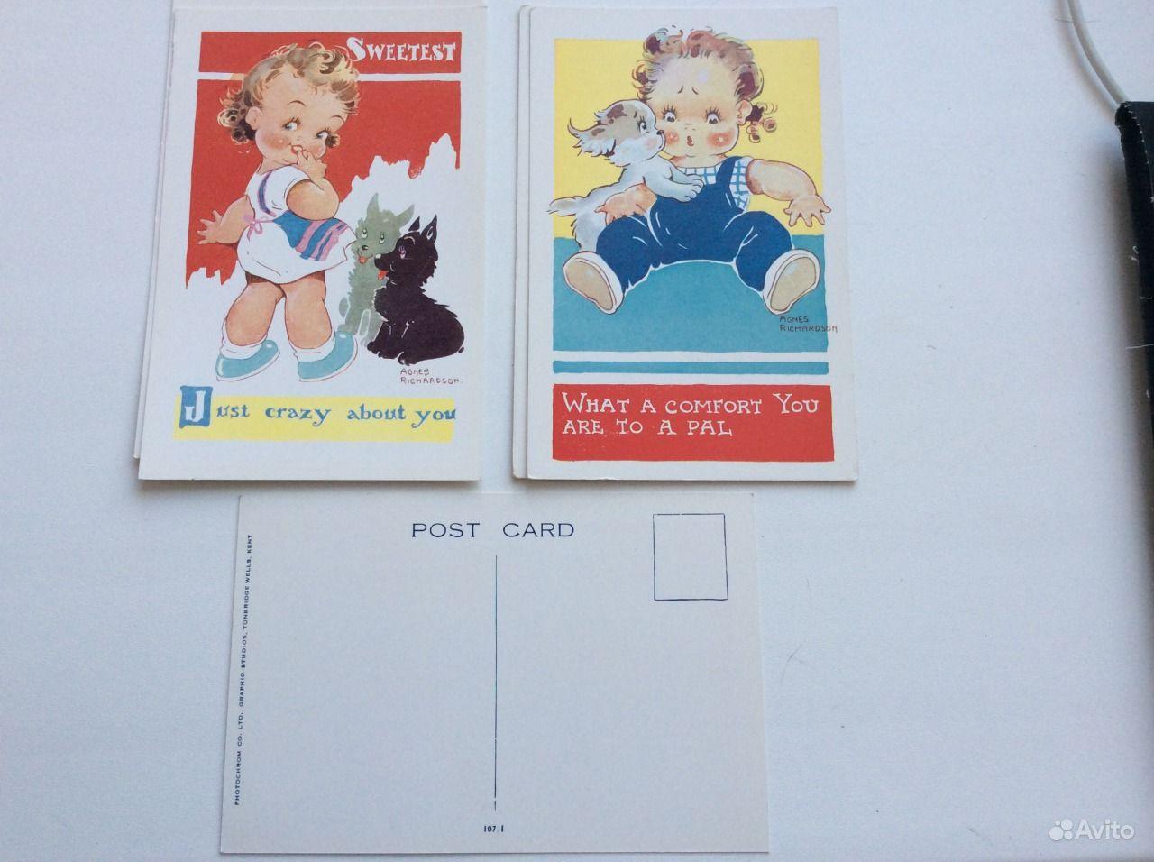 английские открытки: