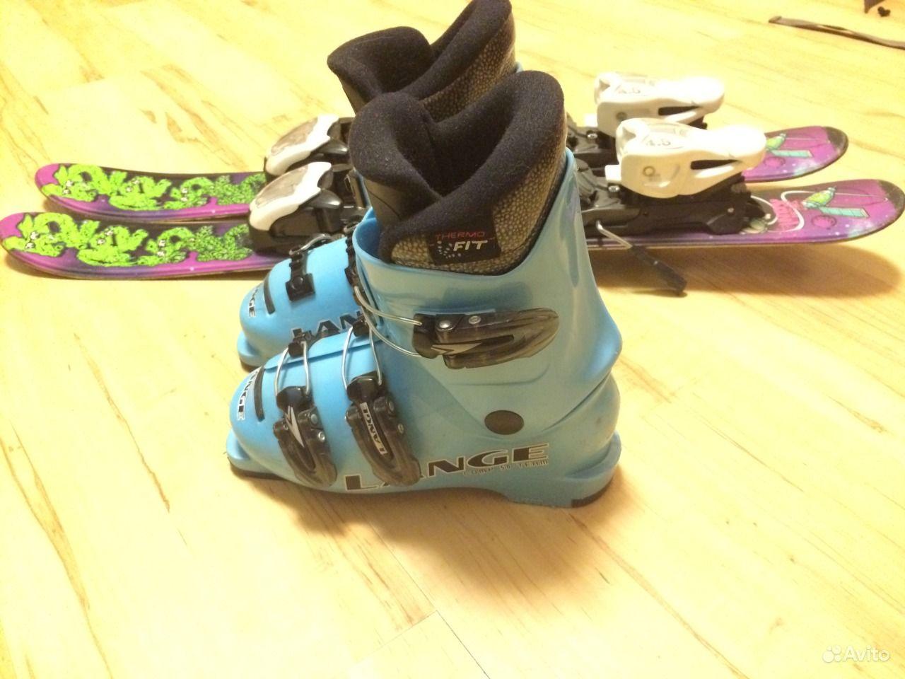 продаю детские горные лыжи: