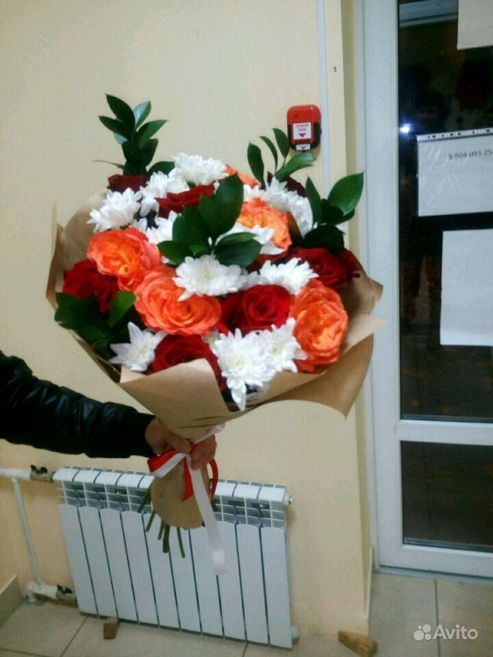 Свежие живые цветы купить на Зозу.ру - фотография № 4
