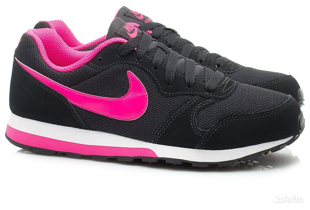 Кроссовки Nike MD Runner 2 GS (807319-006)  188fade01cc61