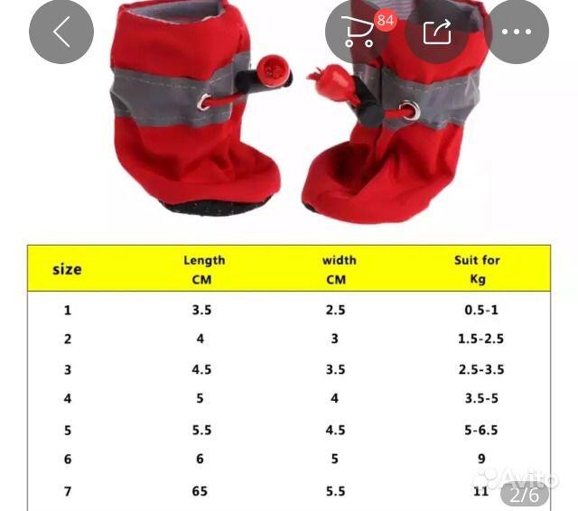 Обувь для собак в Нягани - фотография № 3