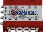 Мультисвитч GoldMaster MS5/5+ 4PCP-3 - новый