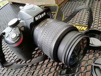 Зеркальный фотоаппарат Nikon D3200 — Фототехника в Москве