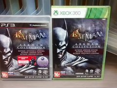 Batman Arkham Collection рус PS3 Xbox 360