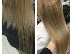 Наращивание волос, окрашивание волос, ботокс для в