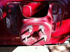 Кранштейн запасного колеса хонда црв рд -1