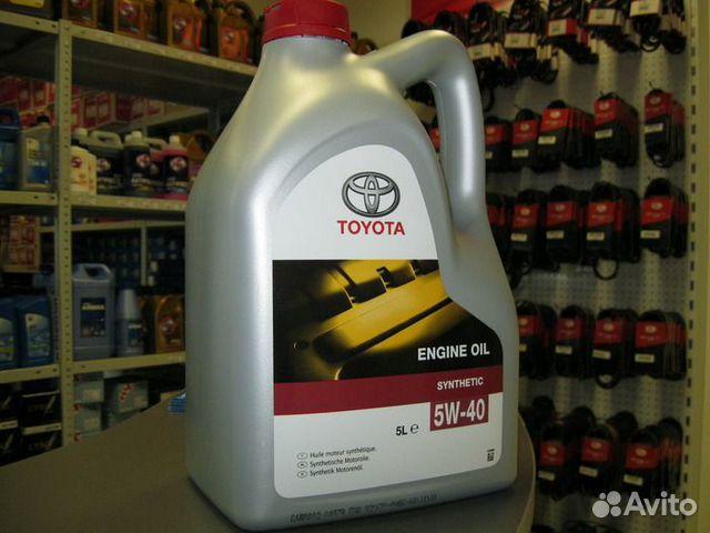 масло моторное toyota rav4