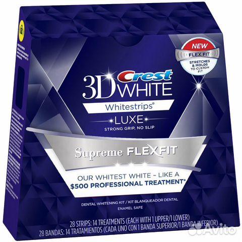 Полосок crest 3d white