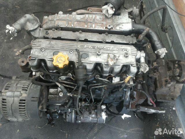 Двигатель 2.5 тд крайслер