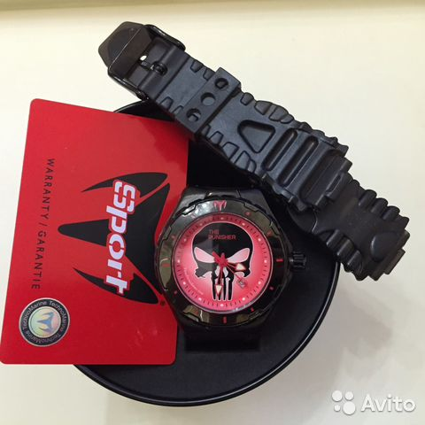 Часы новые Technomarine Punisher Marvel наручные   Festima.Ru ... 81051f229ed