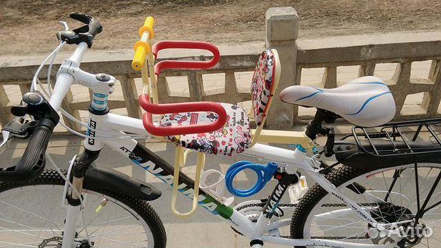 Детское кресло на велосипед б у