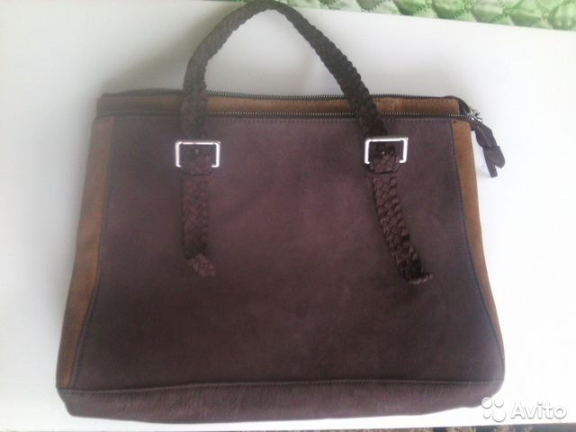 a65a5fbc5913 Новая мужская кожаная сумка (замша) купить в Краснодарском крае на ...