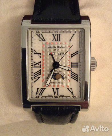 0b2ae76cf8d8 Редкие мужские наручные часы. Gustav Becker. swiss купить в Москве ...
