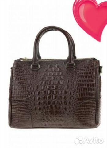 6645b71f9619 Кожаная сумка фирма Акаста Италия купить в Новосибирской области на ...