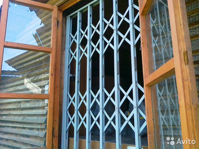 Раздвижные решетки на окна в новосибирске