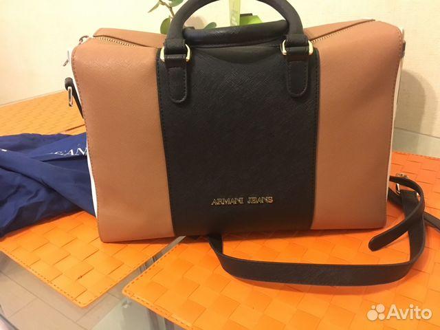 Мужские сумки и портфели armani
