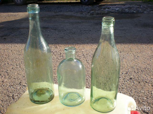 89005250288 Vintage bottle of shells