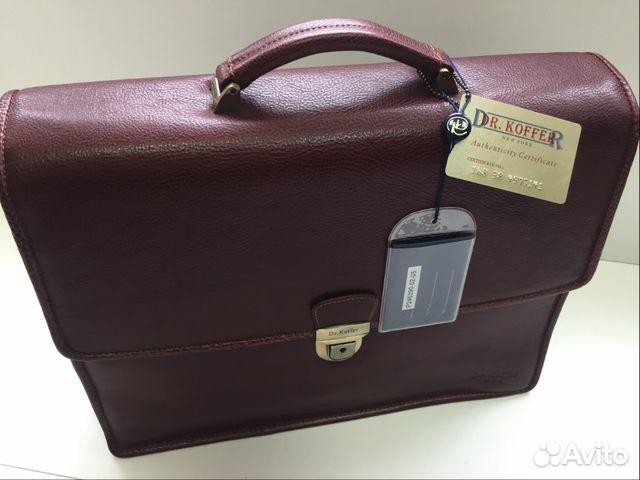 400a07097f54 Портфель из натуральной кожи Dr.Koffer | Festima.Ru - Мониторинг ...