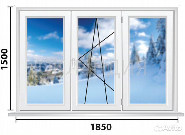 Металлопластиковые окна для 606 серии домов, окландия, санкт.