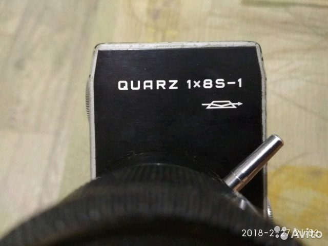 Видеокамера quarz 18S-1 made IN ussr 89787749619 купить 4