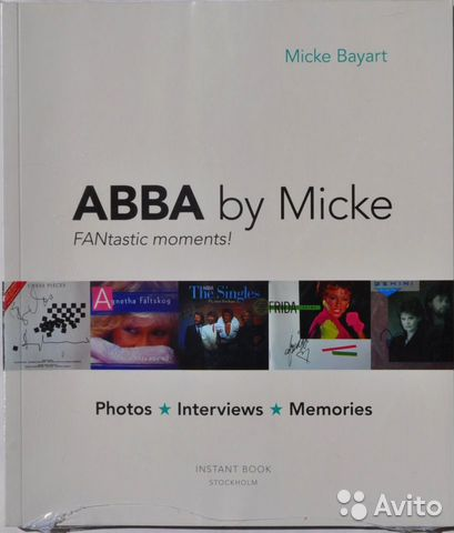 "Abba by Micke ""Fantastic Moments"" NEW. Sweden— фотография №1"
