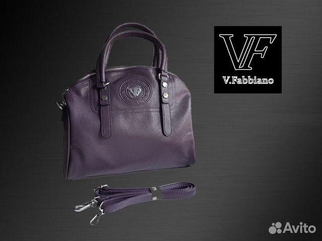 3a118147118e Кожанная сумка Velina Fabbiano (оригинал) | Festima.Ru - Мониторинг ...