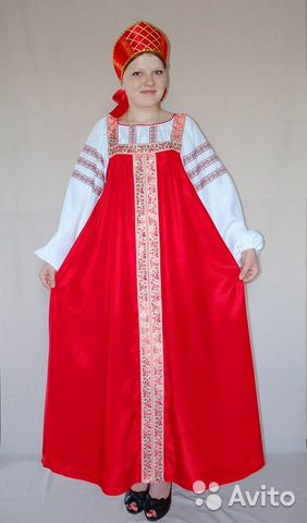 Русский народный костюм женский Москва