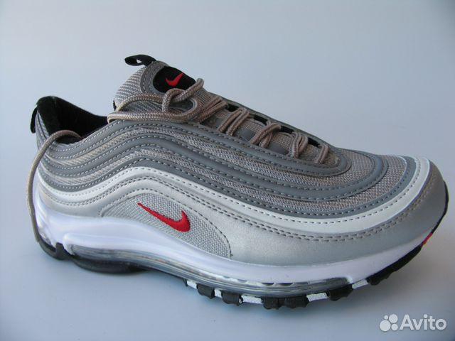 кроссовки Nike Air Max 97 серебро 36 купить в санкт петербурге на
