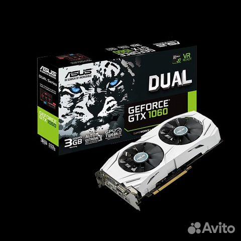 Видеокарта Asus Nvidia GTX 1060 3GB OC VER 89040042358 купить 8