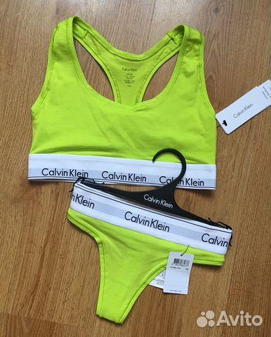 d238618f9f20 Бельё Calvin Klein новое купить в Калининградской области на Avito ...