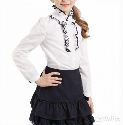 b885a6f6b11 Белая блуза Choupette с длинным рукавом купить в Самарской области ...