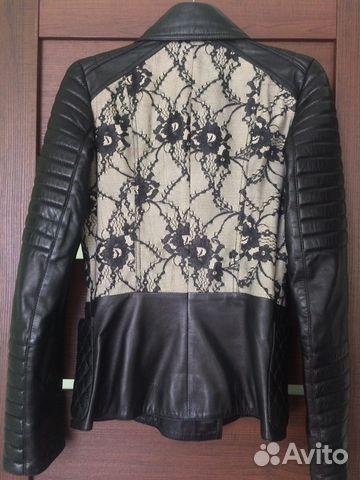 Куртка кожаная 89501330627 купить 4