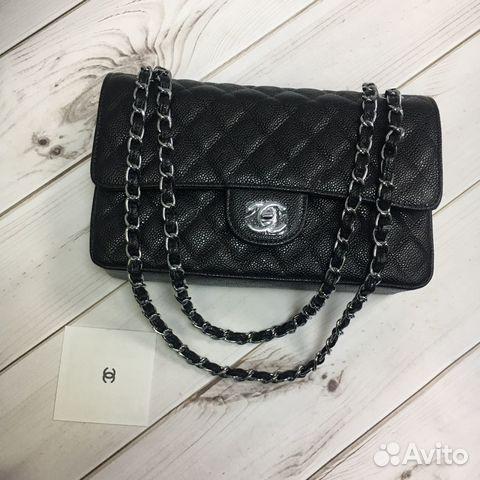 722c1bed9015 Сумка Chanel 2.55 Flap Шанель Клатч Кожа Икра | Festima.Ru ...