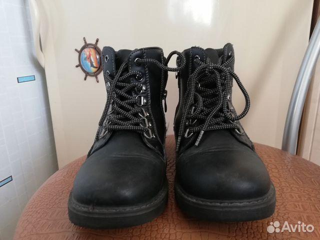 89646808778 Демисезонные ботинки для девочки