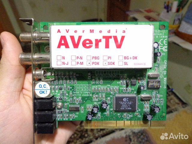 avermedia m135-series pci tv tuner 3.5