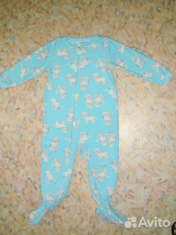 6742d7dc32697 Тёплый человечек слип пижама или поддева Carter's | Festima.Ru ...