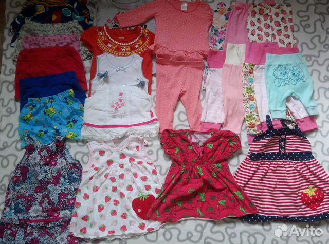 40add3871a69a Детские вещи пакетом купить в Саратовской области на Avito ...