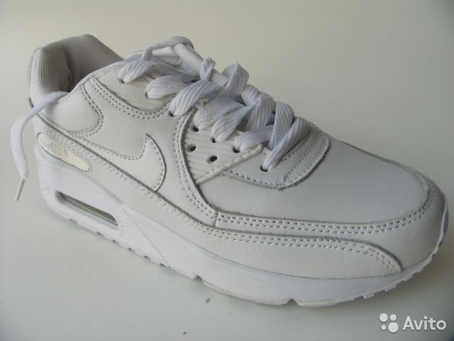 f34f25a0 Кроссовки Nike Air Max 90 Кожа Бел.Д.35 купить в Санкт-Петербурге на ...
