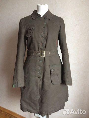 5b714fb2d3a Пальто дизайнерское демисезон б у р-р 44 купить в Москве на Avito ...