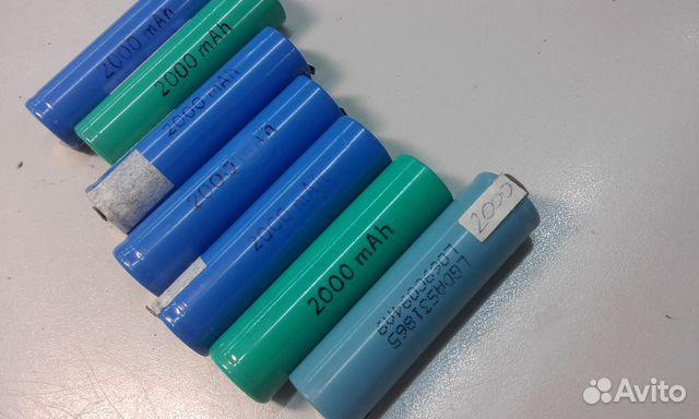 Аккумуляторы Li-ion 18650 89527890683 купить 2