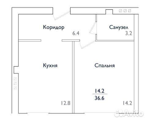 Продается однокомнатная квартира за 2 300 000 рублей. Московская обл, г Ногинск, ул Юбилейная, д 26А.